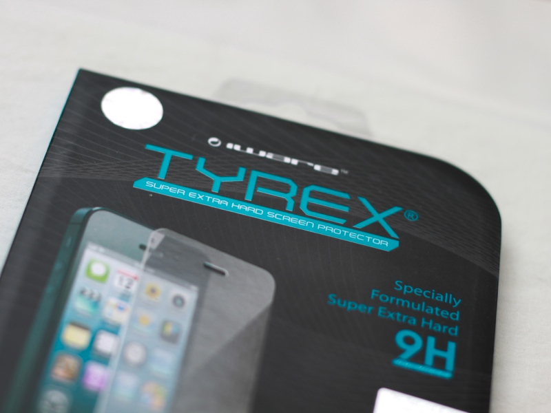 Review: Tyrex Tempered Glass for iPhone 5