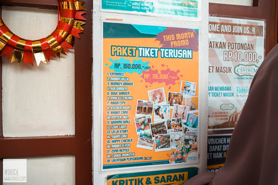 Wisata Selfie Rabbit Town Bandung