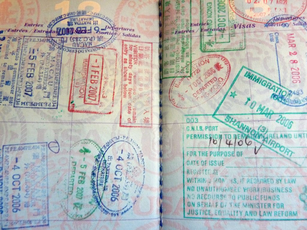 World Passport Stamps