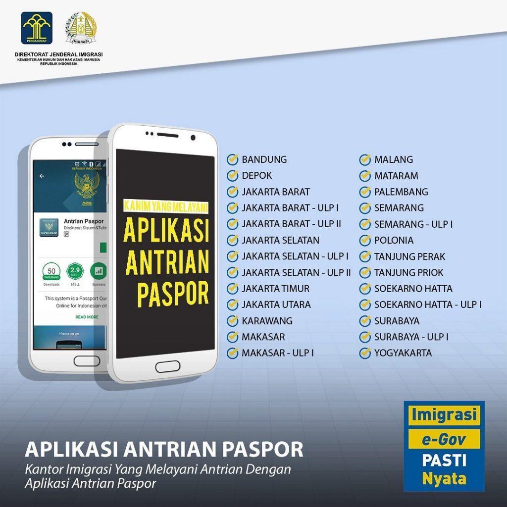 Cara Mudah Untuk Bikin / Ganti E-Passport di Jakarta Secara Online
