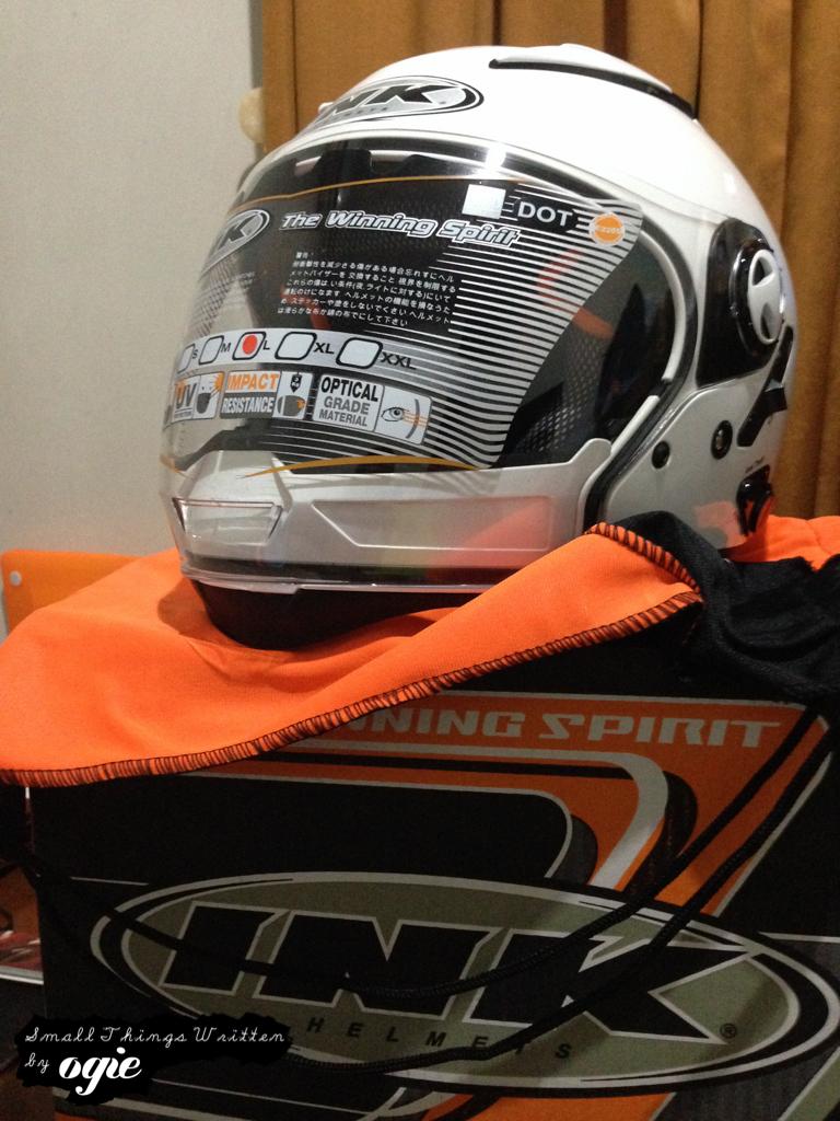 Beli Helm Baru di Jogja Karena di Maling!