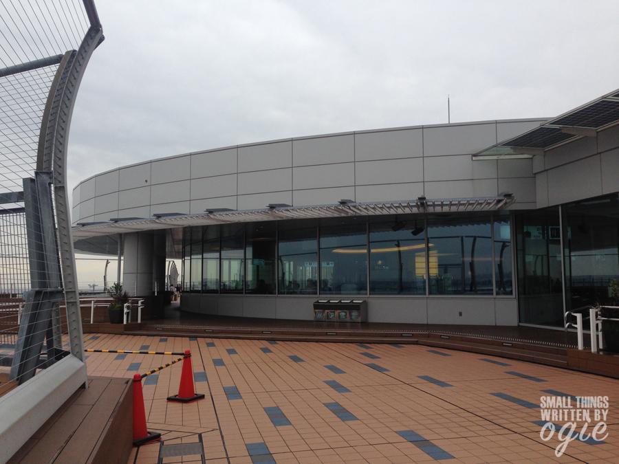 Observation Deck Haneda Japan