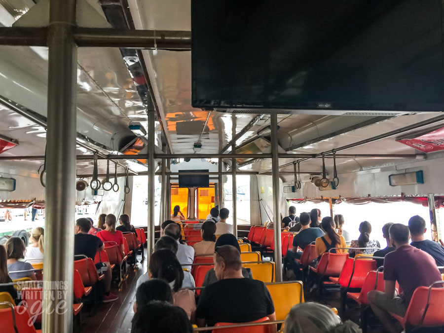 Ferry to Asiatique