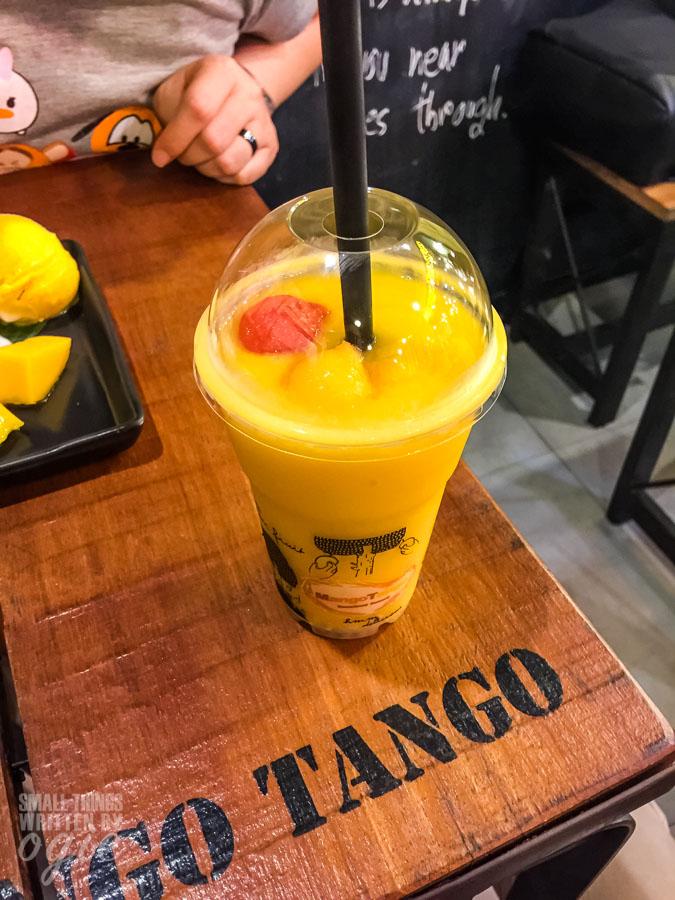Mango Smoothies Mango Tango