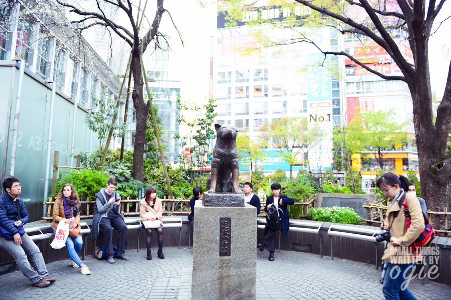 Hachiko Statue Shibuya Japan