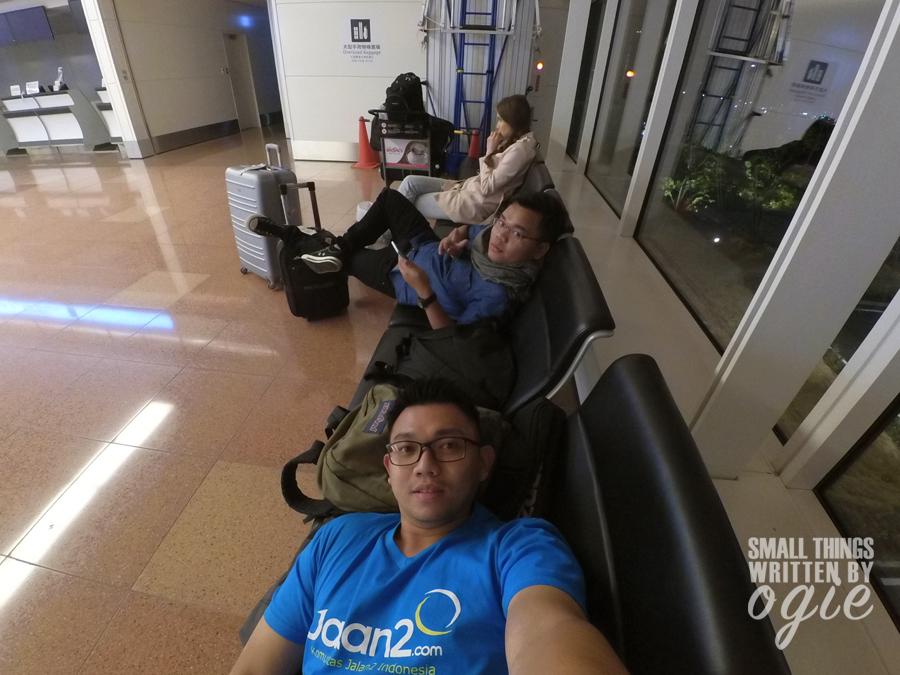 Menginap di Bandara Haneda Jepang