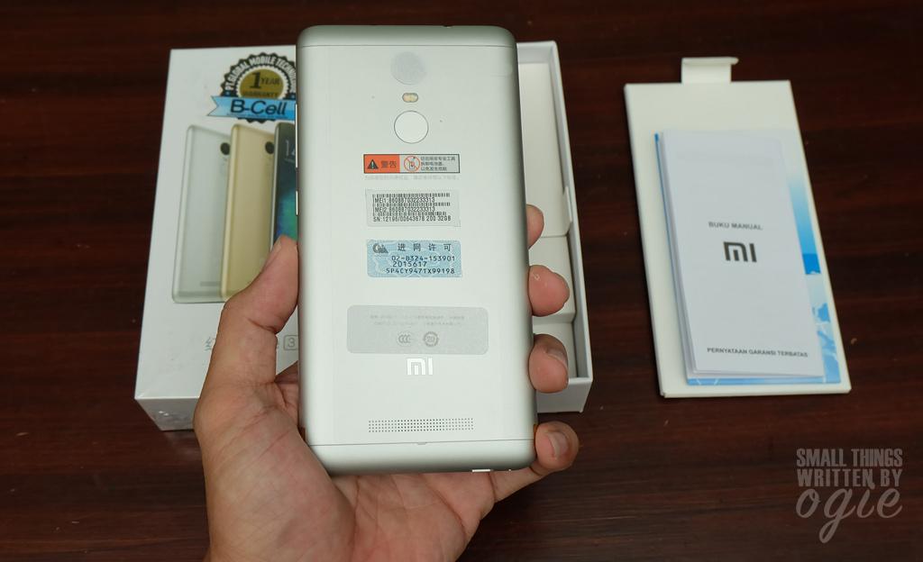 Coba-coba Pakai Xiaomi Redmi Note 3